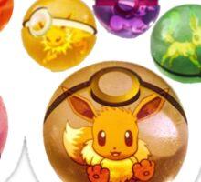 Eevee Evolution | Pokeball Sticker