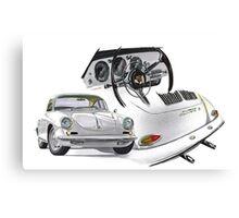 Porsche 356 BT6 Carrera Canvas Print