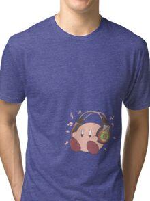 Kirby Sound Test Headphones Tri-blend T-Shirt