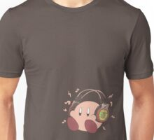 Kirby Sound Test Headphones Unisex T-Shirt