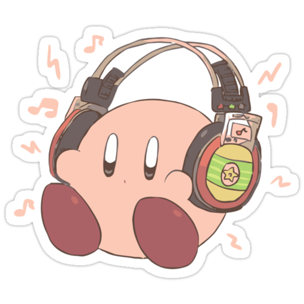 Kirby Sound Test Headphones by DaKirbyDood