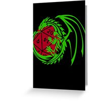 Dungeons and Dragons - Custom Colors Available! Greeting Card