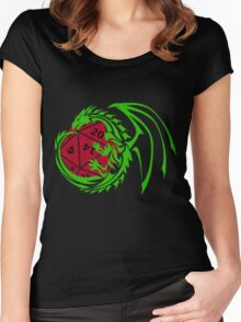 Dungeons and Dragons - Custom Colors Available! Women's Fitted Scoop T-Shirt