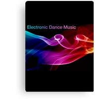 Electronic Dance Music Canvas Print