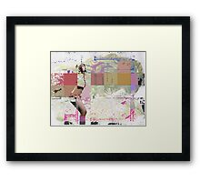 use of boxes Framed Print