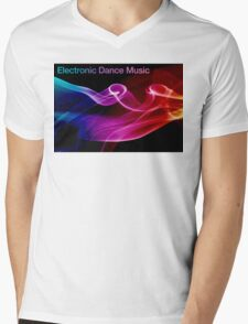 Electronic Dance Music Mens V-Neck T-Shirt