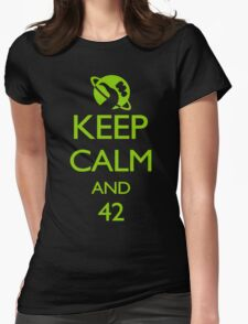 Keep Calm and 42 VECTOR T-Shirt
