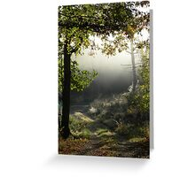 Morning Vision Greeting Card