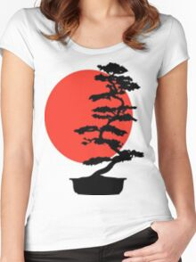 Go Bonsai Now Women's Fitted Scoop T-Shirt
