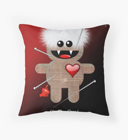 VOODOO LOVE Throw Pillow