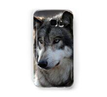 back light wolf Samsung Galaxy Case/Skin