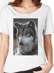 back light wolf Women's Relaxed Fit T-Shirt