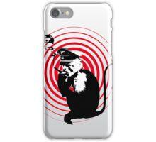 Evil Smoking Monkey iPhone Case/Skin