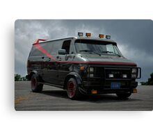 A-Team Van Replica Canvas Print