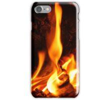 fiery iPhone Case/Skin
