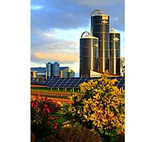 Modern Mennonite Farming Photographic Print