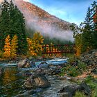 Fall up the Tumwater by Brad Granger
