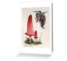 Bah Hum Bug Christmas Card Greeting Card