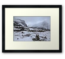 Elbow Pass valley IV Framed Print