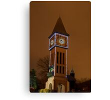 Clock Tower Main Strauss KY Canvas Print