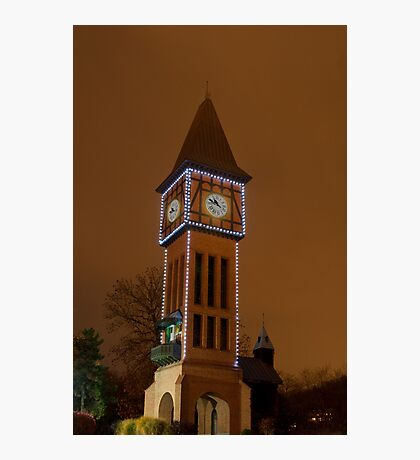 Clock Tower Main Strauss KY Photographic Print