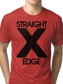 Straightedge Tri-blend T-Shirt