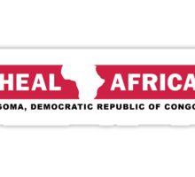 Heal Africa charity 1b Sticker