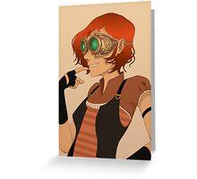 Steampunk I Greeting Card