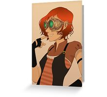 Steampunk I Greeting Card