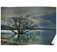 Waterbound - Lake Tekapo NZ Poster