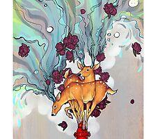 Deer by Anastasiya Drake