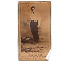 Benjamin K Edwards Collection Al Maul Pittsburgh Alleghenys baseball card portrait Poster