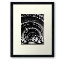 Musei Vaticani: Descent Framed Print