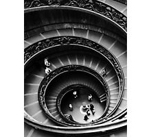Musei Vaticani: Descent Photographic Print