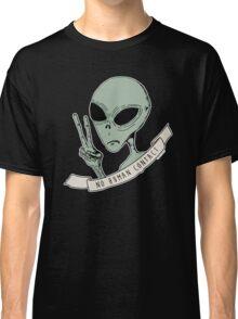 No Human Contact Classic T-Shirt