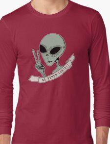 No Human Contact Long Sleeve T-Shirt