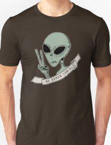 No Human Contact Unisex T-Shirt