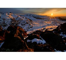 End of the Day, Central Plateau Photographic Print