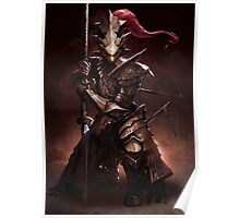 Dragon Slayer Ornstein Poster