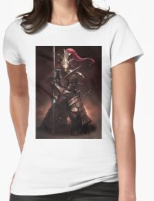 Dragon Slayer Ornstein Womens Fitted T-Shirt