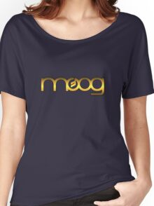 Golden Vintage Moog Synth Women's Relaxed Fit T-Shirt
