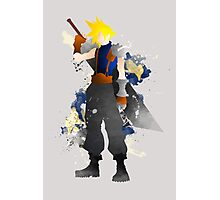 Final Fantasy 7: Cloud Strife Giclee Art Print Photographic Print