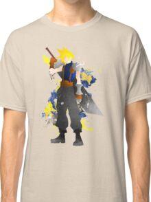 Final Fantasy 7: Cloud Strife Giclee Art Print Classic T-Shirt