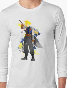 Final Fantasy 7: Cloud Strife Giclee Art Print Long Sleeve T-Shirt