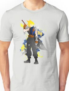 Final Fantasy 7: Cloud Strife Giclee Art Print Unisex T-Shirt