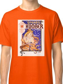 Humber Cycles 1890s Vintage Advertising Poster Classic T-Shirt