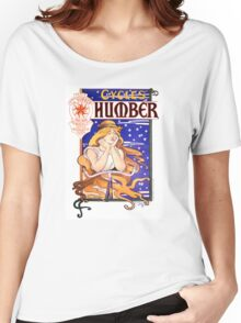 Humber Cycles 1890s Vintage Advertising Poster Women's Relaxed Fit T-Shirt