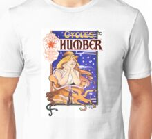 Humber Cycles 1890s Vintage Advertising Poster Unisex T-Shirt
