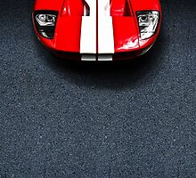 Classic Ford GT40 by thelazypigeon