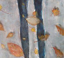 autumn shadows by Nataliya Stoyanova